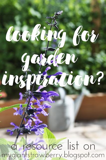 gardening, garden inspiration, resources, link list, My Giant Strawberry, Anne Butera