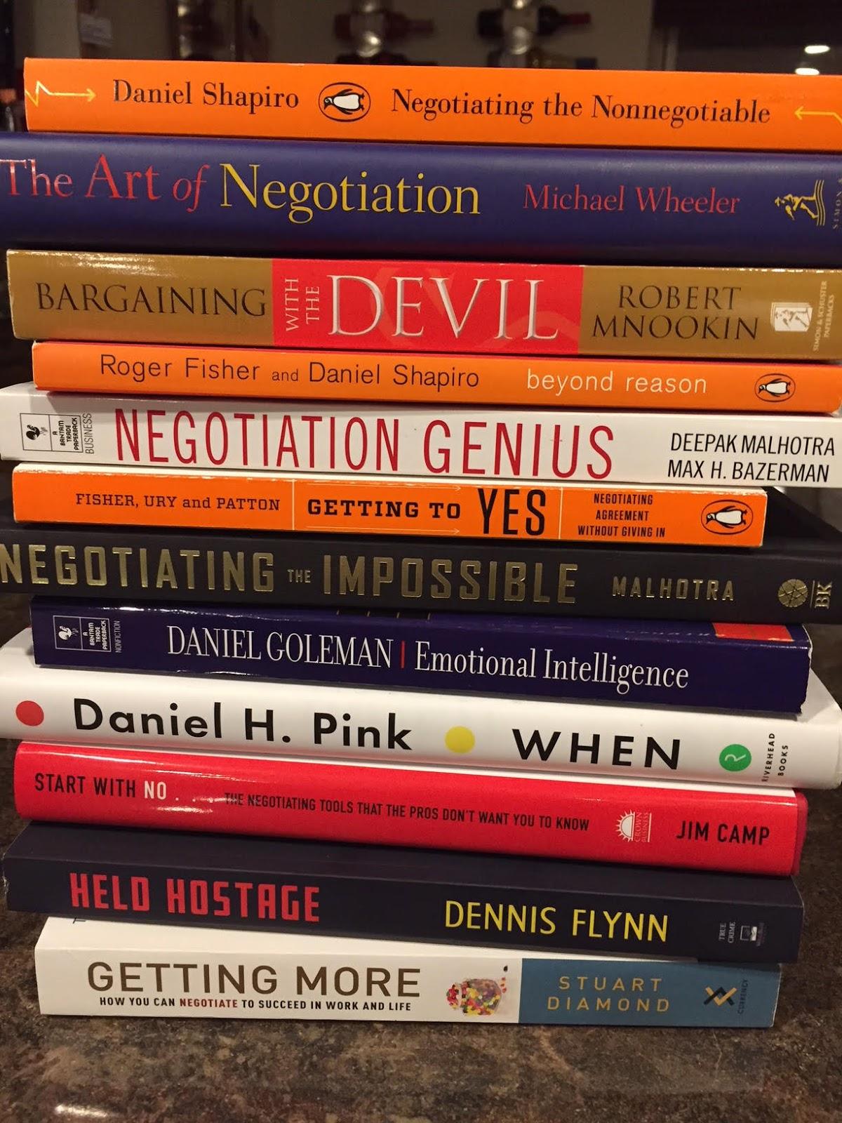 Hostage negotiation books