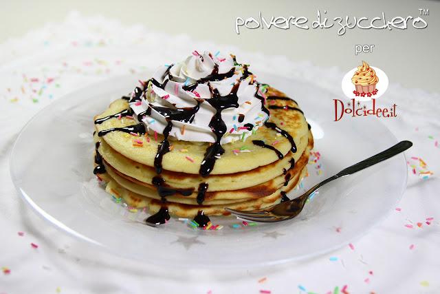 pancake ricetta pasta di zucchero tutorial dolci passo a passo