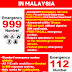 what is the emergency number in malaysia