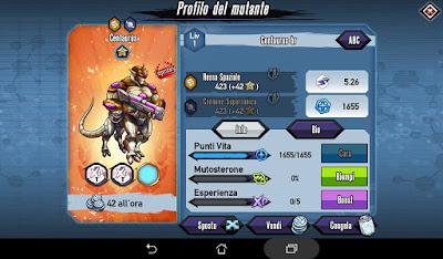 Mutants: Genetic Gladiators Breeding video N°485 (Centaurus - Robot)