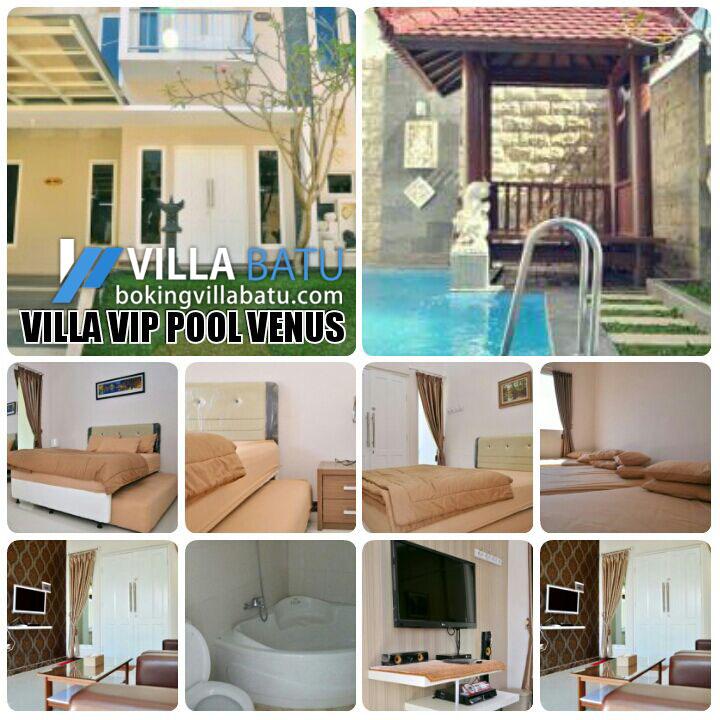 Detail Gambar Penginapan Villa VIP Pool Venus Batu