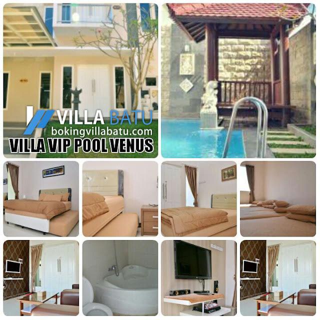 Penginapan Villa VIP Pool Venus Batu