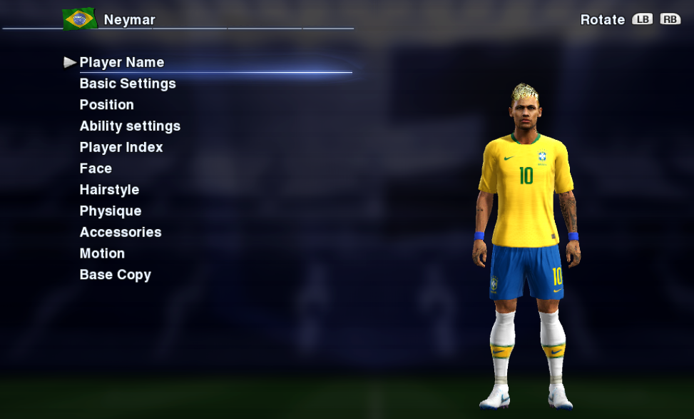 PES 2013 Face Neymar Jr World Cup 2018 by Socram