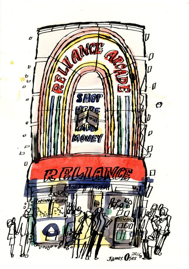 Brixton Banc Noir