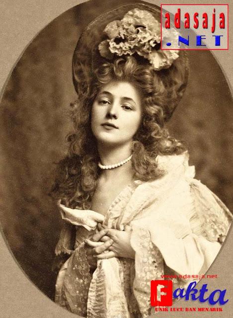evelyn nesbit seorang foto model pertama di dunia