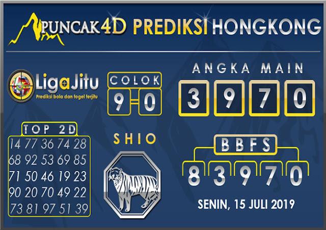 PREDIKSI TOGEL HONGKONG PUNCAK4D 15 JULI 2019