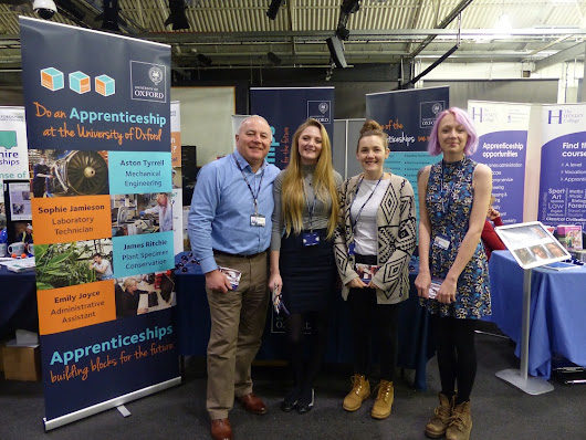 Oxford City Learning Careers Fest 2015 - MINI Plant Oxford  - University of Oxford Apprentices