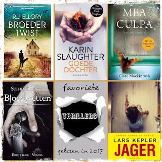 RJ Ellory, Karin Slaughter, Clare Mackintosh, Sophia Drenth, Lars Kepler