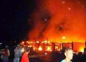 Top 25 PHOTOS: Fire in Socorro Market, Oriental Mindoro