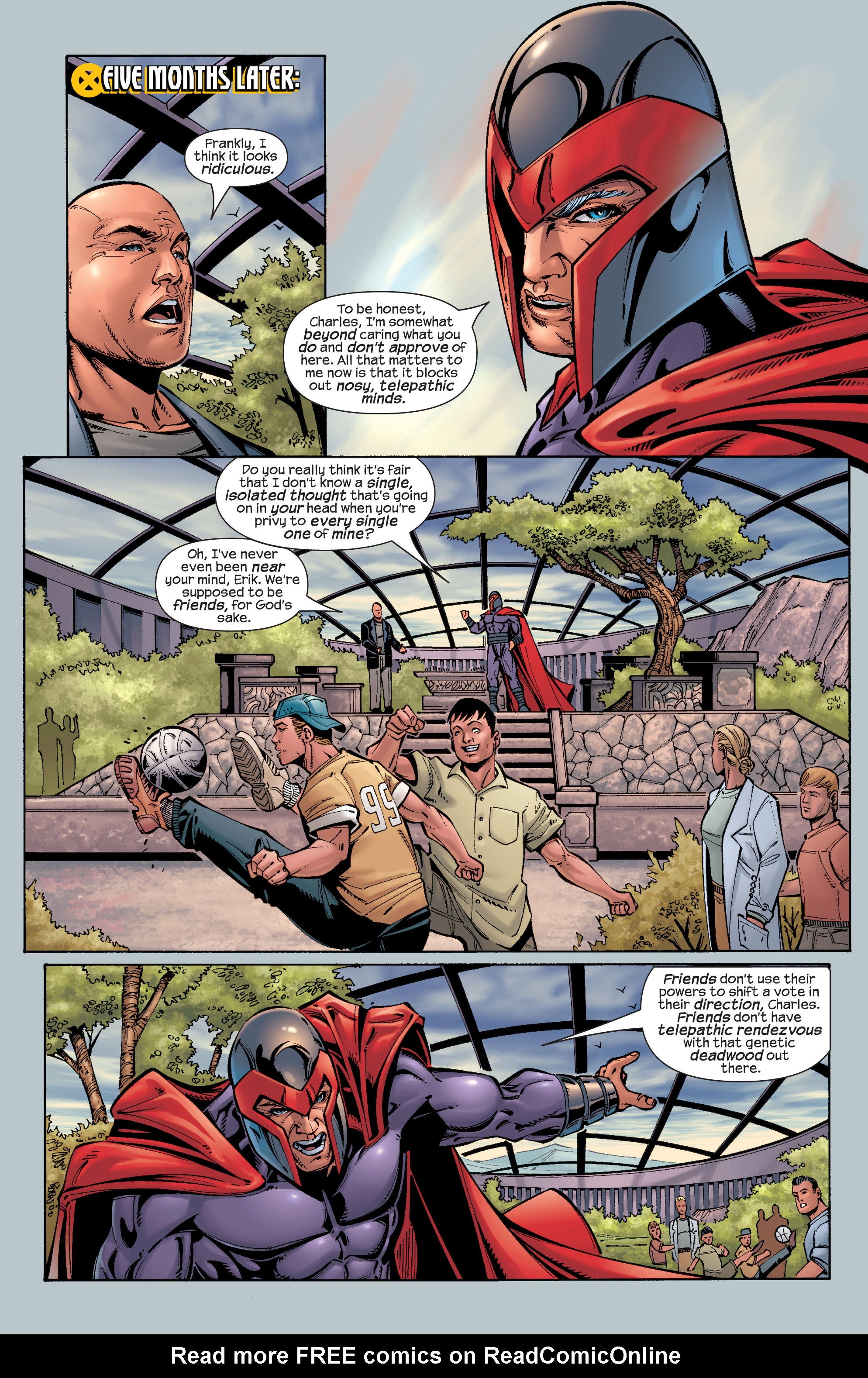 Read online Ultimate X-Men comic -  Issue #26 - 16