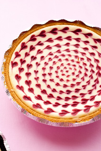 http://www.cookingclassy.com/2011/11/white-chocolate-raspberry-cheesecake-2/