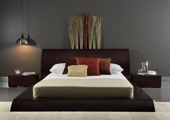 japon tarzı minimalist yatak odası tasarımı