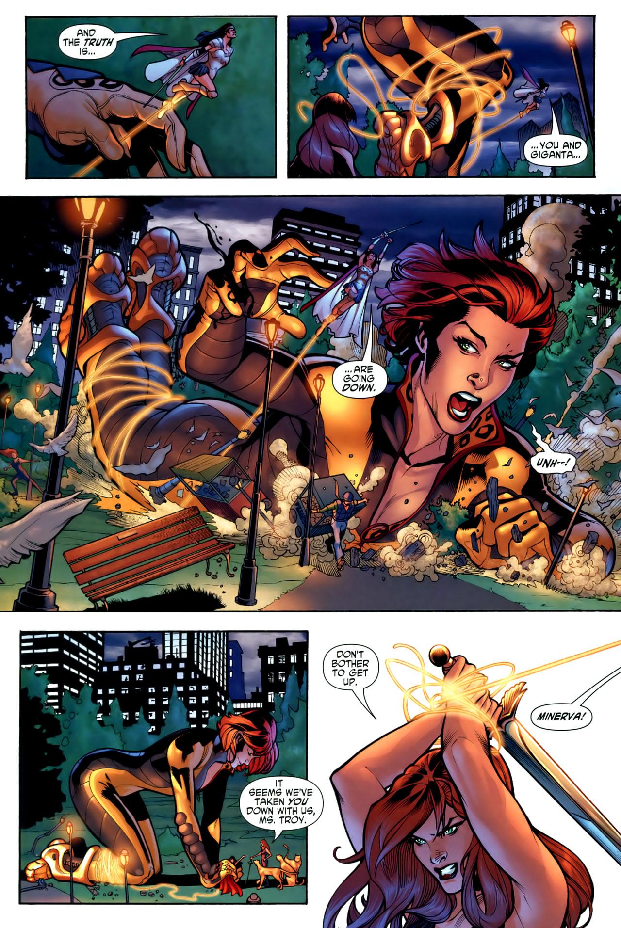 Read online Wonder Woman (2006) comic -  Issue #1 - 16