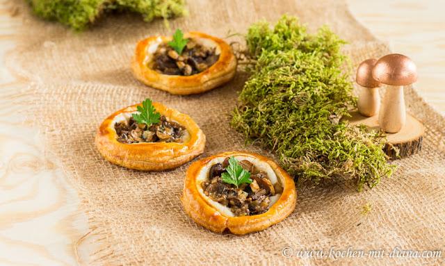 Pilze Tartelettes