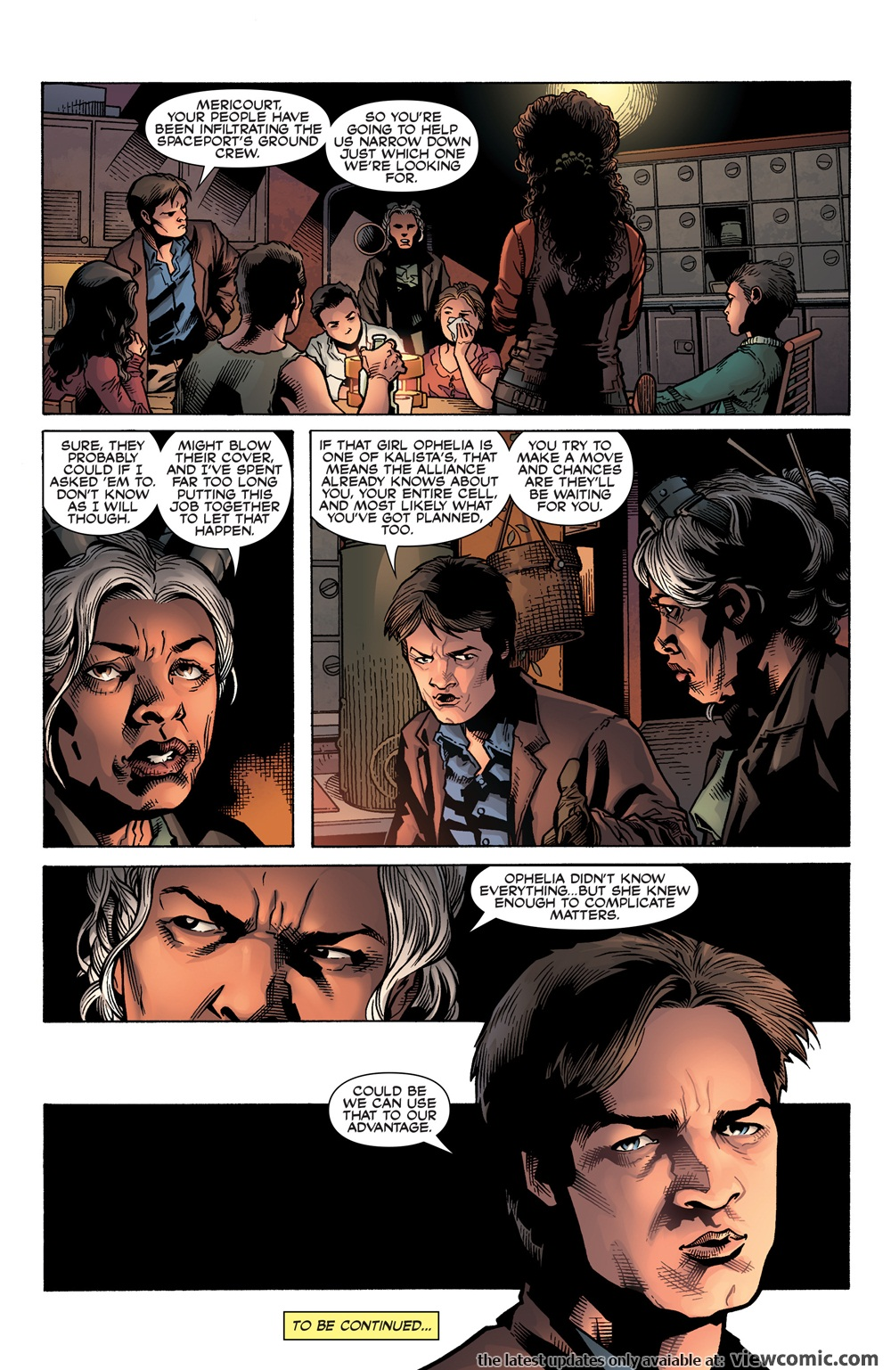 Serenity – No Power in the Verse | Viewcomic reading comics