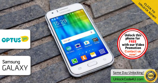 Factory Unlock Code Samsung Galaxy J1 from Optus Yes