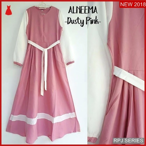 RPJ086D149 Model Dress Alneema Cantik Dress Wanita
