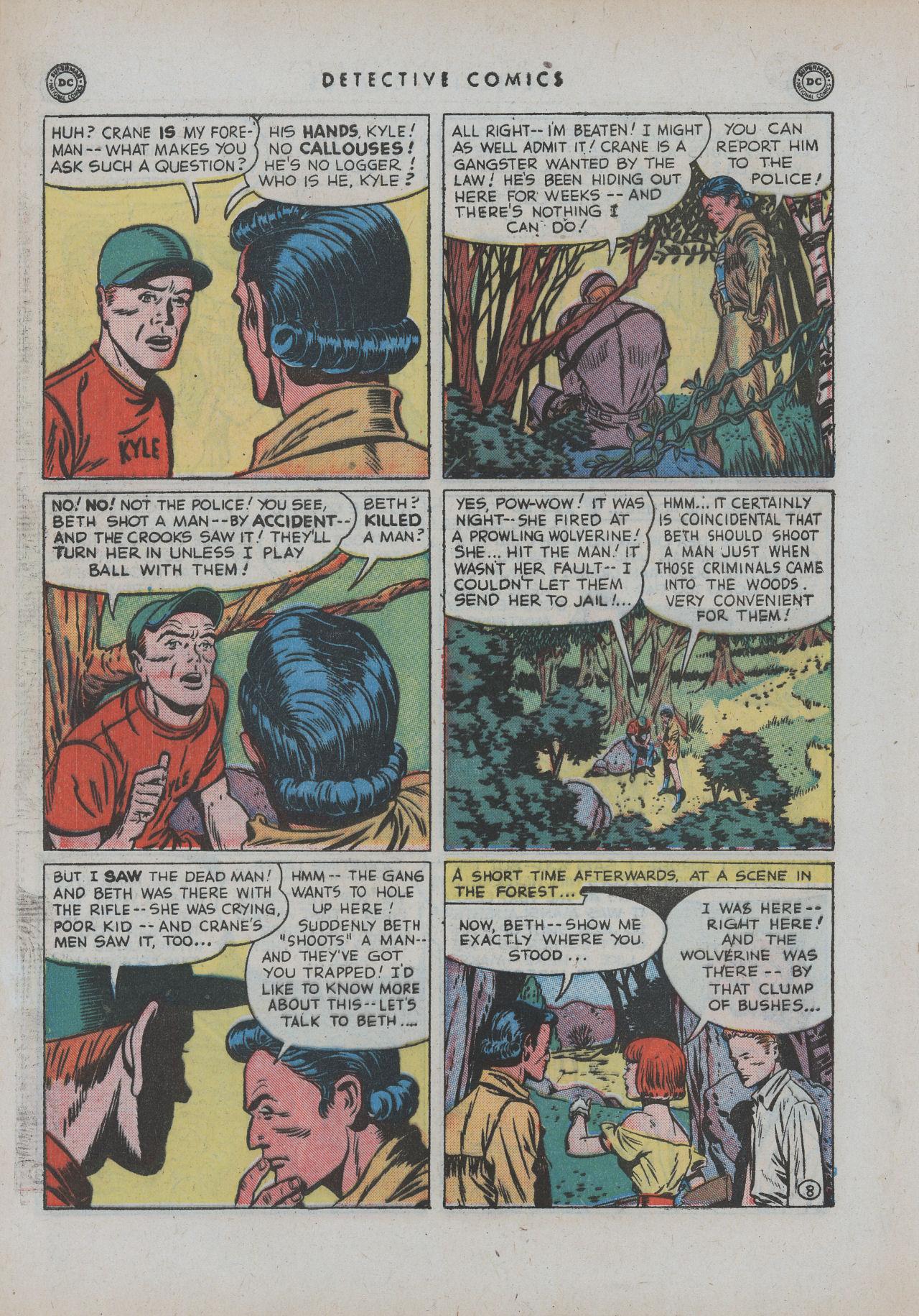 Read online Detective Comics (1937) comic -  Issue #154 - 46