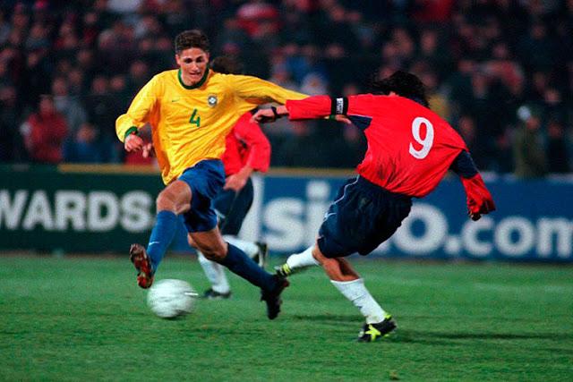 Chile y Brasil en Clasificatorias a Corea/Japón 2002, 15 de agosto de 2000