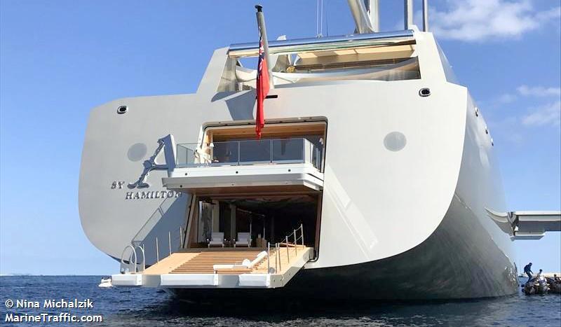 Sailing Yacht A >> Teamhan Sy Condor Sailing Yacht A Arrives Sxm
