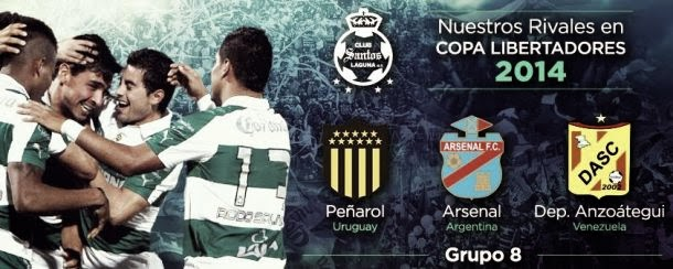Santos Laguna vs Arsenal en Vivo