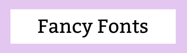 Fancy Fonts Download