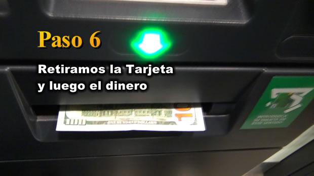 PASO 6: Retirar la tarjeta Payoneer y luego el dinero