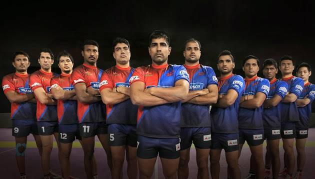 Dabang Delhi team 2016