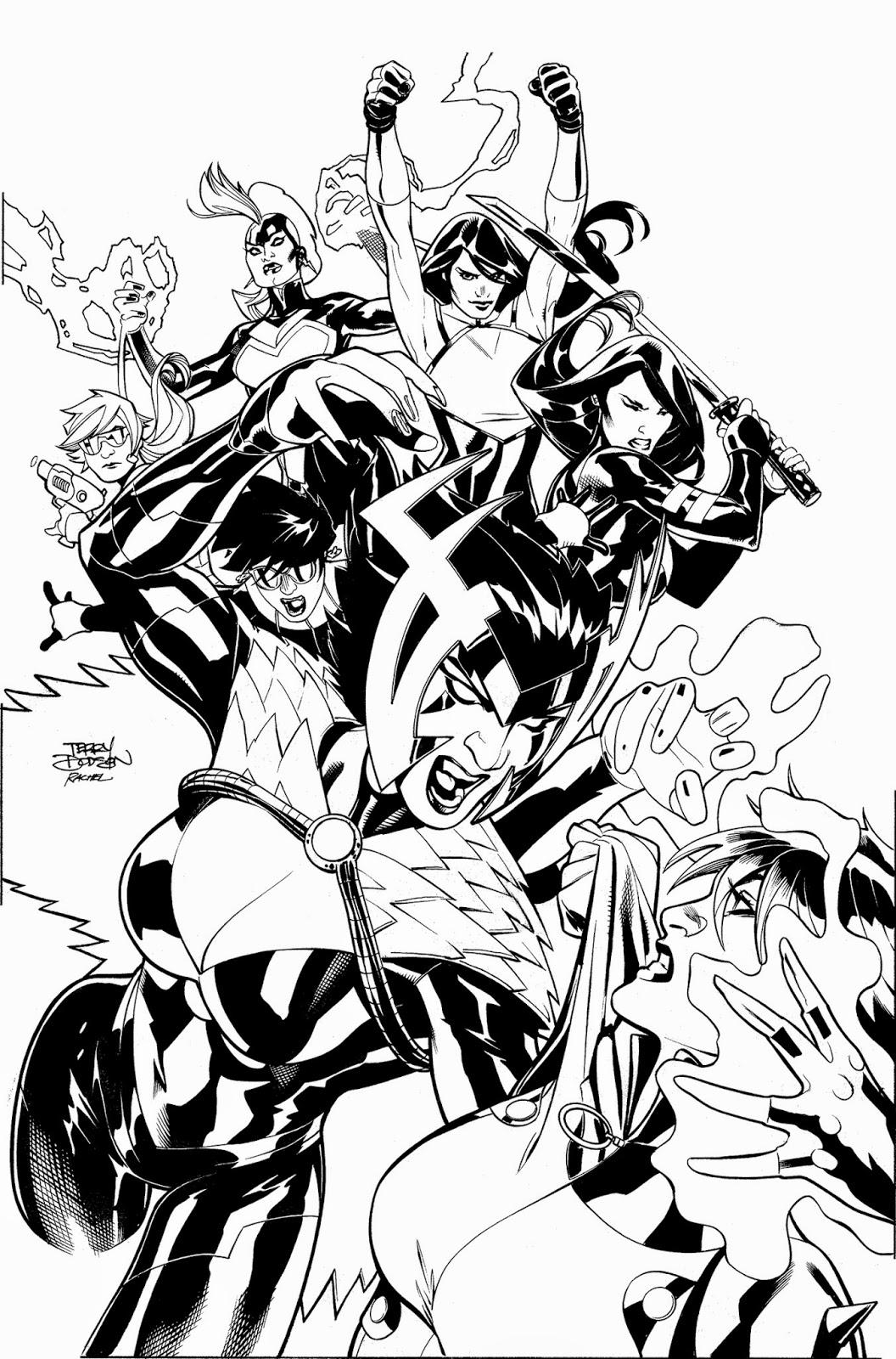 The Bombshellter: X-Men #22 Cover
