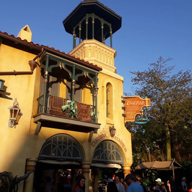 Magic Kingdom Arabian area in Adventure land