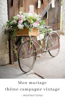 inspirations et idées pour un mariage thème campagne vintage blog mariage unjourmonprinceviendra26.com