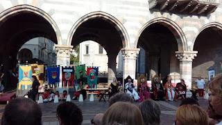 espetáculo medieval