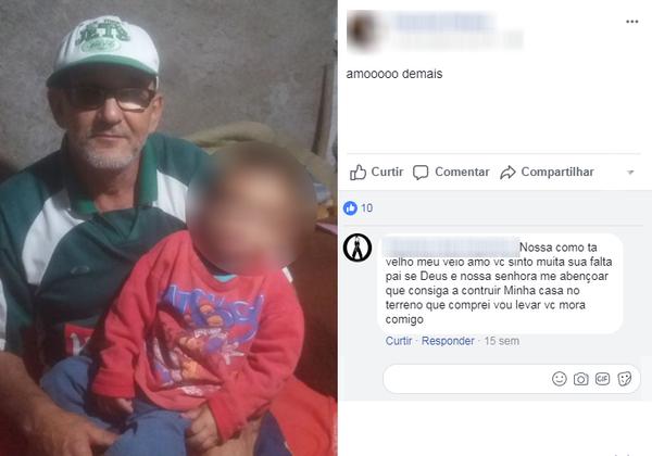 Pai tem derrame e morte cerebral ao descobrir que corpo achado em plantação é da filha