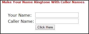 Caller name ke sath ringtone