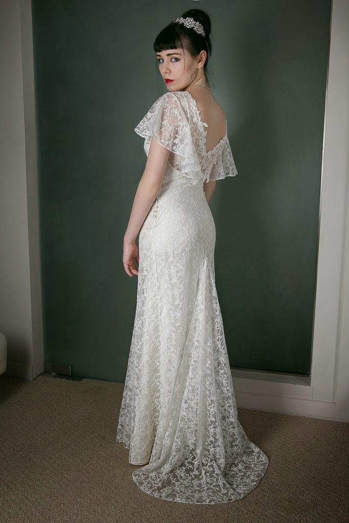 Vintage-Inspired Wedding Dress of the Week... in dreamy ...