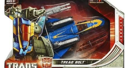 Transformers Universe Tread Bolt MISSILE part
