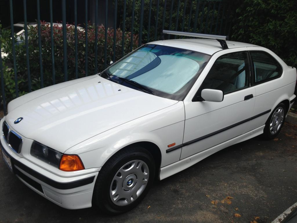 10k sport compact 1997 bmw 318ti low mile e36 [ 1024 x 768 Pixel ]