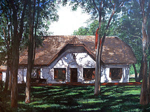 Miller Homestead in Salina Kansas by Boulder artist Tom Roderick