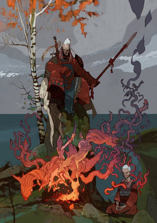 Jakub Rebelka artstation arte ilustrações fantasia ficção científica comics steampunk cyberpunk