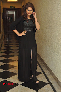 Actress Surabhi Stills in Black Long Dress at turodu Audio Launch  0107.JPG