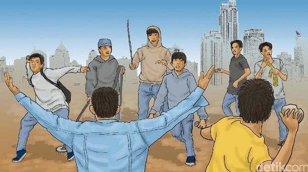Contoh Teks Eksplanasi Fen omena Sosial Tawuran antar Pelajar