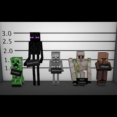 mobs de minecraft buscados