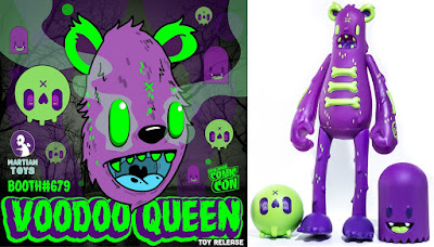 New York Comic Con 2017 Exclusive Voodoo Queen Dead Bear Vinyl Figure by Nicky Davis x Martian Toys