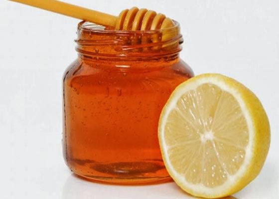 mel e limão para aftas