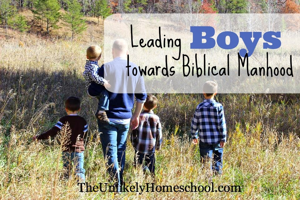 Truth Guards: Leading Boys Towards Biblical Manhood {The Unlikely Homeschool}