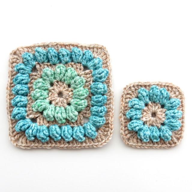 crochet popcorn stitch free pattern