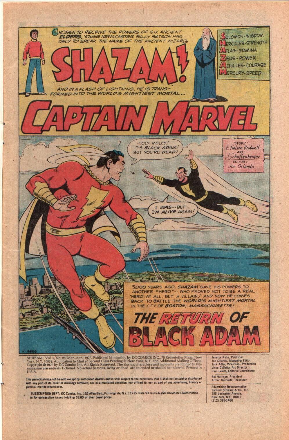 Read online Shazam! (1973) comic -  Issue #28 - 3