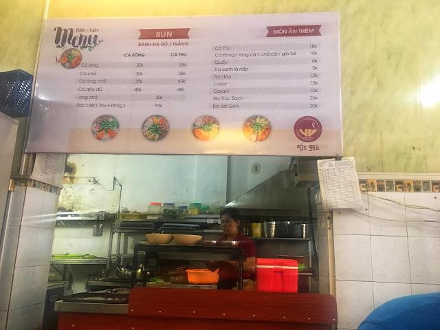 vietnamese hanoi restaurant fish noodle soup