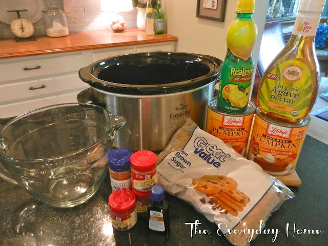 Crockpot Pumpkin Butter |The Everyday Home | www.everydayhomeblog.com